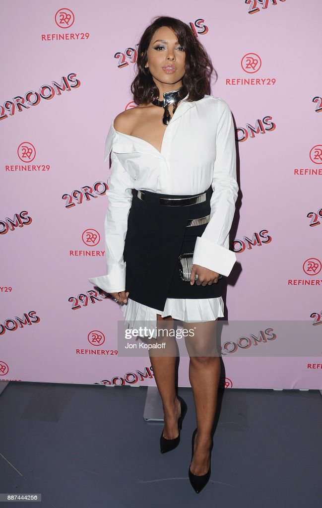 Actress Kat Graham attends Refinery29 29Rooms Los Angeles: Turn It Into Art at ROW DTLA on December 6, 2017 in Los Angeles, California.