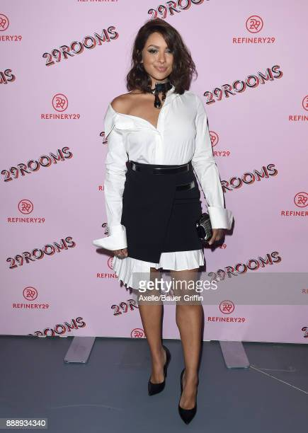 Actress Kat Graham attends Refinery29 29Rooms Los Angeles Turn It Into Art at ROW DTLA on December 6 2017 in Los Angeles California
