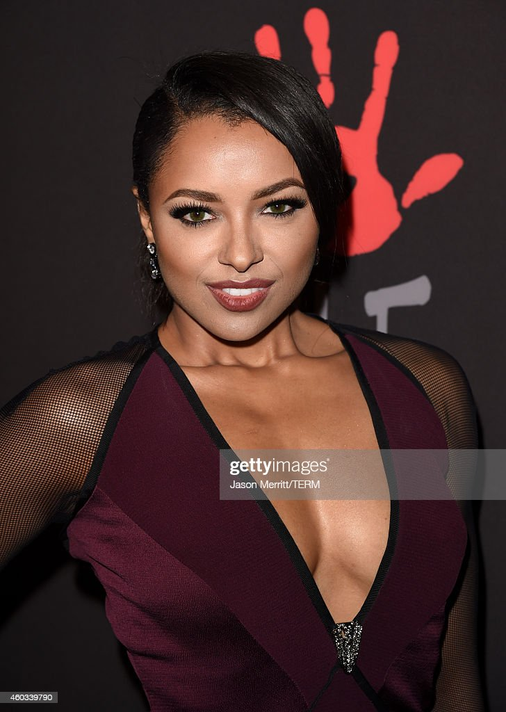 Actress Kat Graham attends Rihanna's First Annual Diamond Ball at The Vineyard on December 11, 2014 in Beverly Hills, California.