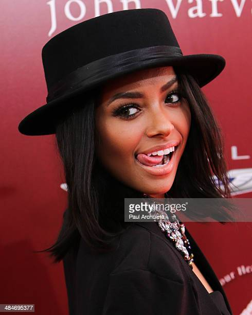 Actress Kat Graham attends the 11th annual Stuart House Benefit at John Varvatos on April 13 2014 in Los Angeles California