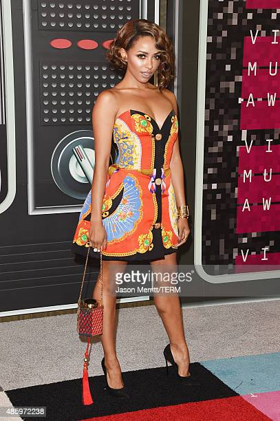 Actress Kat Graham attends the 2015 MTV Video Music Awards at Microsoft Theater on August 30 2015 in Los Angeles California