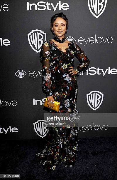 Actress Kat Graham attends The 2017 InStyle and Warner Bros 73rd Annual Golden Globe Awards PostParty at The Beverly Hilton Hotel on January 8 2017...