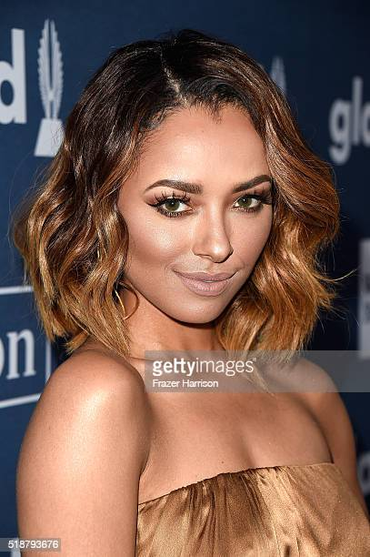 Actress Kat Graham attends the 27th Annual GLAAD Media Awards at the Beverly Hilton Hotel on April 2 2016 in Beverly Hills California