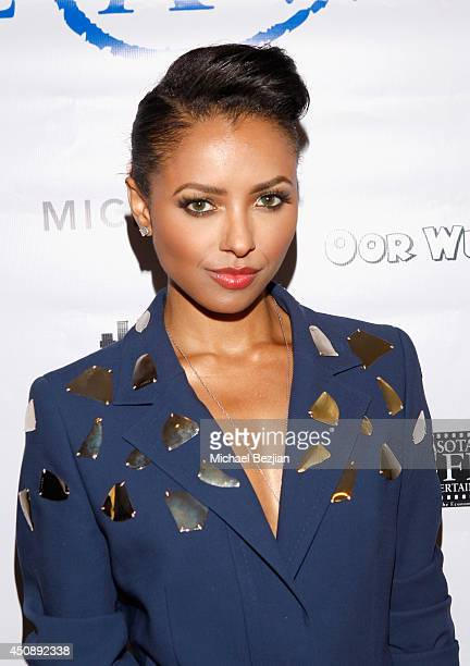 Actress Kat Graham attends the 4th Annual Critics' Choice Television Awards at The Beverly Hilton Hotel on June 19 2014 in Beverly Hills California