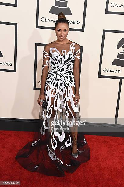 Actress Kat Graham attends The 57th Annual GRAMMY Awards at the STAPLES Center on February 8 2015 in Los Angeles California