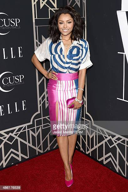 Actress Kat Graham attends the 5th Annual ELLE Women in Music Celebration presented by CUSP by Neiman Marcus Hosted by ELLE EditorinChief Robbie...