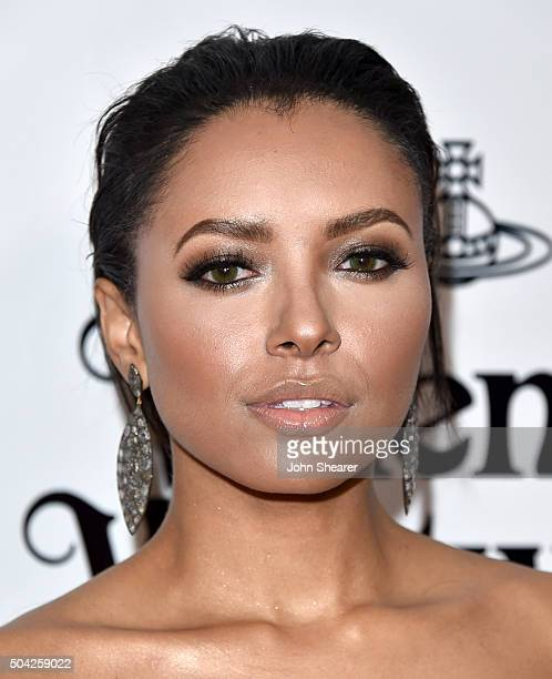 Actress Kat Graham attends The Art of Elysium 2016 HEAVEN Gala presented by Vivienne Westwood Andreas Kronthaler at 3LABS on January 9 2016 in Culver...