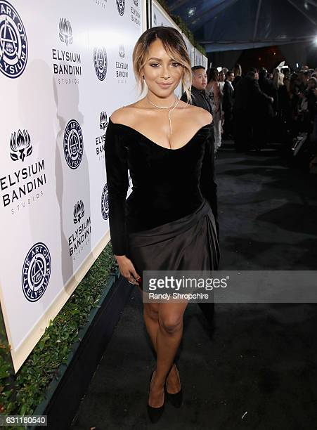 Actress Kat Graham attends The Art of Elysium presents Stevie Wonder's HEAVEN Celebrating the 10th Anniversary at Red Studios on January 7 2017 in...