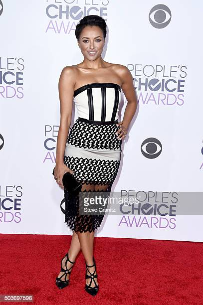 Actress Kat Graham attends the People's Choice Awards 2016 at Microsoft Theater on January 6 2016 in Los Angeles California