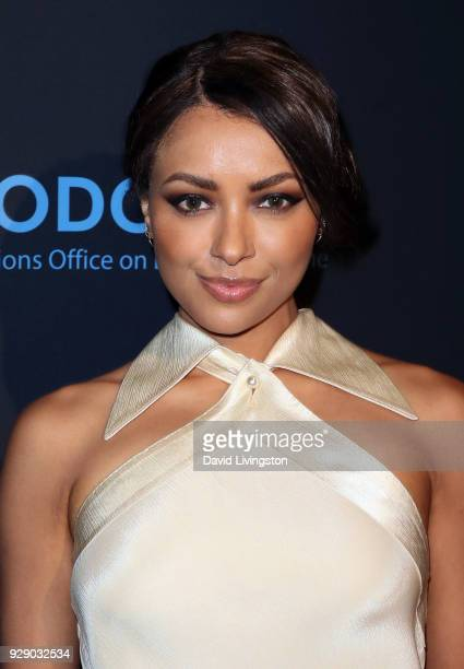 Actress Kat Graham attends the premiere of Saban Films' The Forgiven at the Directors Guild of America on March 7 2018 in Los Angeles California