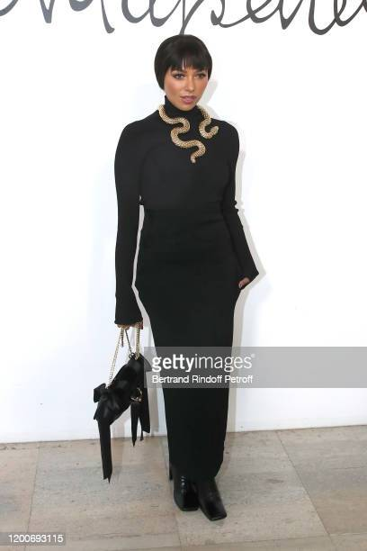 Actress Kat Graham attends the Schiaparelli Haute Couture Spring/Summer 2020 show as part of Paris Fashion Week on January 20, 2020 in Paris, France.
