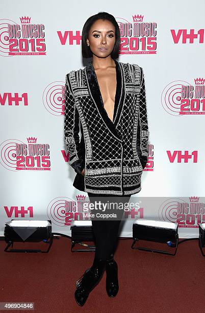 Actress Kat Graham attends the VH1 Big Music in 2015 You Oughta Know Concert at The Armory Foundation on November 12 2015 in New York City