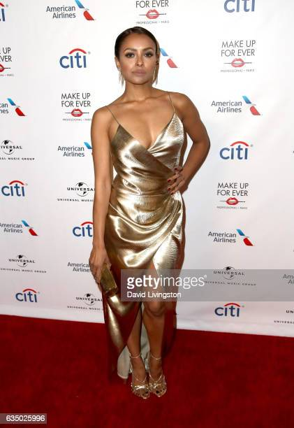 Actress Kat Graham attends Universal Music Group's 2017 GRAMMY after party at The Theatre at Ace Hotel on February 12 2017 in Los Angeles California