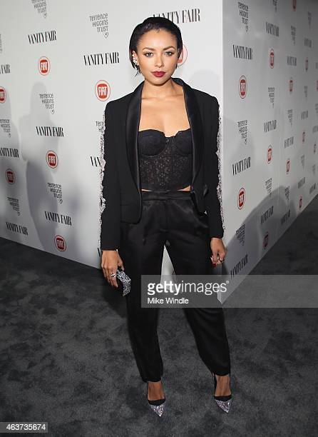Actress Kat Graham attends Vanity Fair and FIAT celebration of Young Hollywood hosted by Krista Smith and James Corden to benefit the Terrence...