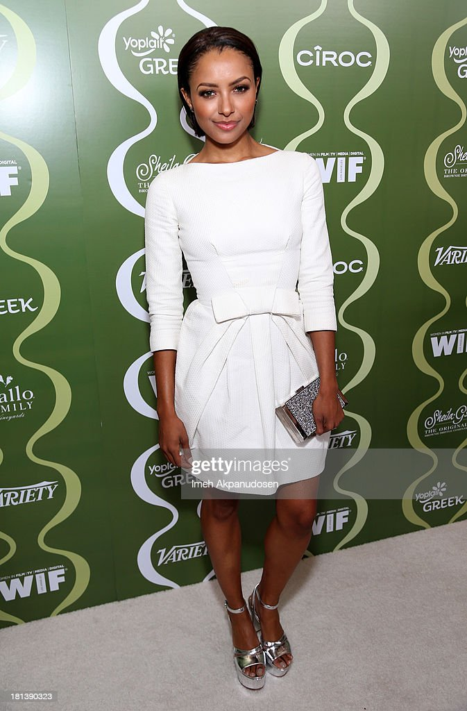 Actress Kat Graham attends Variety & Women In Film Pre-Emmy Event presented by Yoplait Greek at Scarpetta on September 20, 2013 in Beverly Hills, California.
