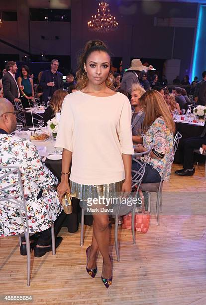 Actress Kat Graham attends VH1's 5th Annual Streamy Awards at the Hollywood Palladium on Thursday September 17 2015 in Los Angeles California