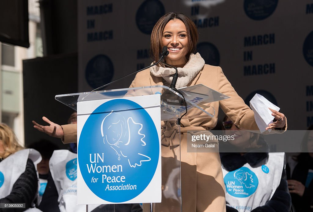 March To End Violence Against Women Hosted By UN Women For Peace Association