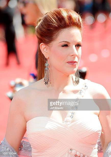Actress Kat Kramer arrives at the 62nd Annual Primetime Emmy Awards held at the Nokia Theatre LA Live on August 29 2010 in Los Angeles California