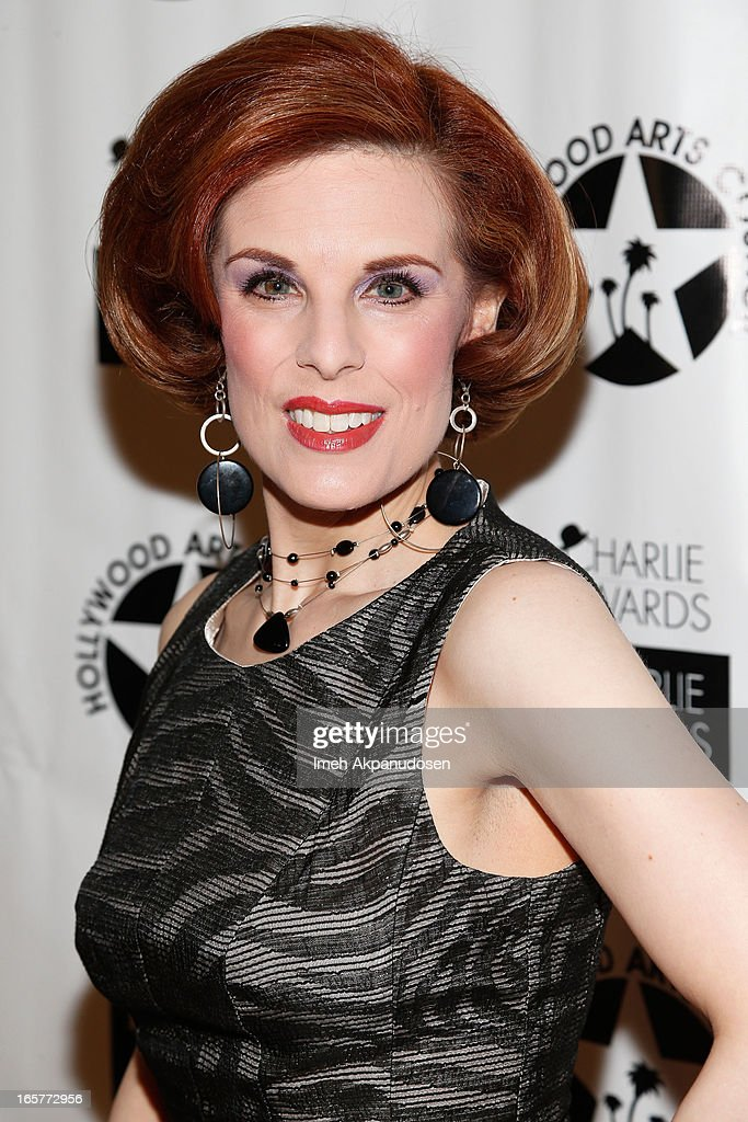 Actress Kat Kramer attends Hollywood Arts Council's 27th Annual Charlie Awards Luncheon at Hollywood Roosevelt Hotel on April 5, 2013 in Hollywood, California.