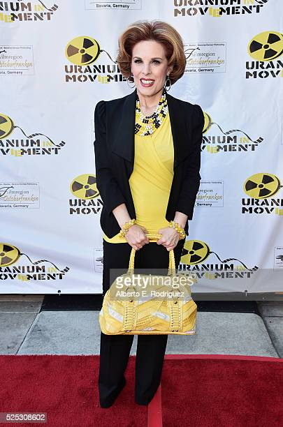 Actress Kat Kramer attends the Atomic Age Cinema Fest Premiere of The Man Who Saved The World at Raleigh Studios on April 27 2016 in Los Angeles...