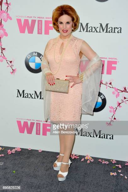 Actress Kat Kramer attends Women In Film 2017 Crystal Lucy Awards Presented By Max Mara And BMW at The Beverly Hilton Hotel on June 13 2017 in...