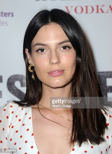 Actress Kate Amundsen arrives for the Premiere Of Winterstone Pictures' 'Deserted' held at Majestic Crest Theatre on October 6 2016 in Los Angeles...