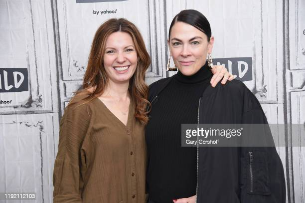 """Actress Kate Arrington and writer/director Jennifer Reeder visit the Build Series to discuss the film """"Knives and Skin"""" at Build Studio on December..."""