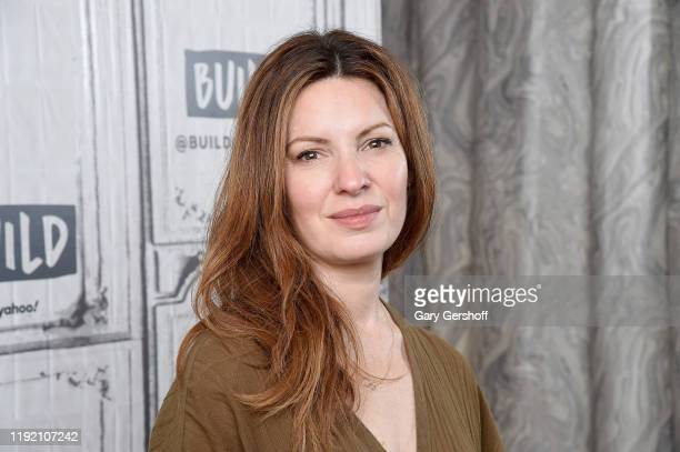 """Actress Kate Arrington visits the Build series to discuss the film """"Knives and Skin"""" at Build Studio on December 05 2019 in New York City"""