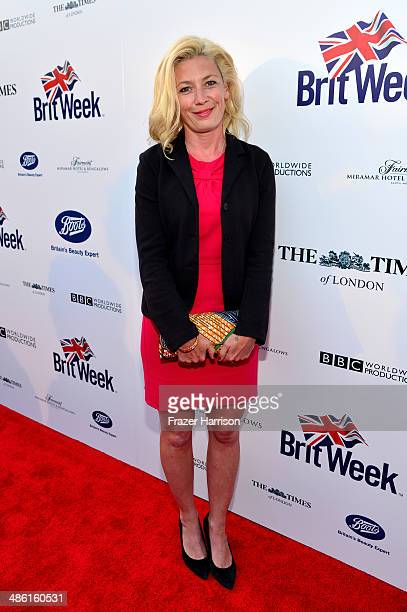 Actress Kate Ashfield attends the 8th Annual BritWeek Launch Party at a private residence on April 22 2014 in Los Angeles California