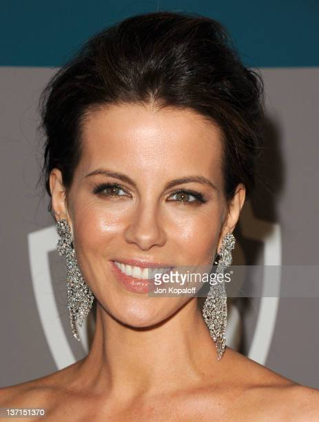 Actress Kate Beckinsale arrives at the 13th Annual Warner Bros. And InStyle Golden Globe After Party held at The Beverly Hilton hotel on January 15,...