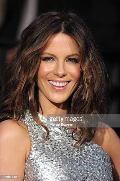 Actress Kate Beckinsale arrives at the 2010 Vanity Fair Oscar Party hosted by Graydon Carter held at Sunset Tower on March 7 2010 in West Hollywood...