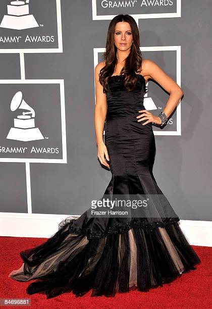 Actress Kate Beckinsale arrives at the 51st Annual Grammy Awards held at the Staples Center on February 8 2009 in Los Angeles California