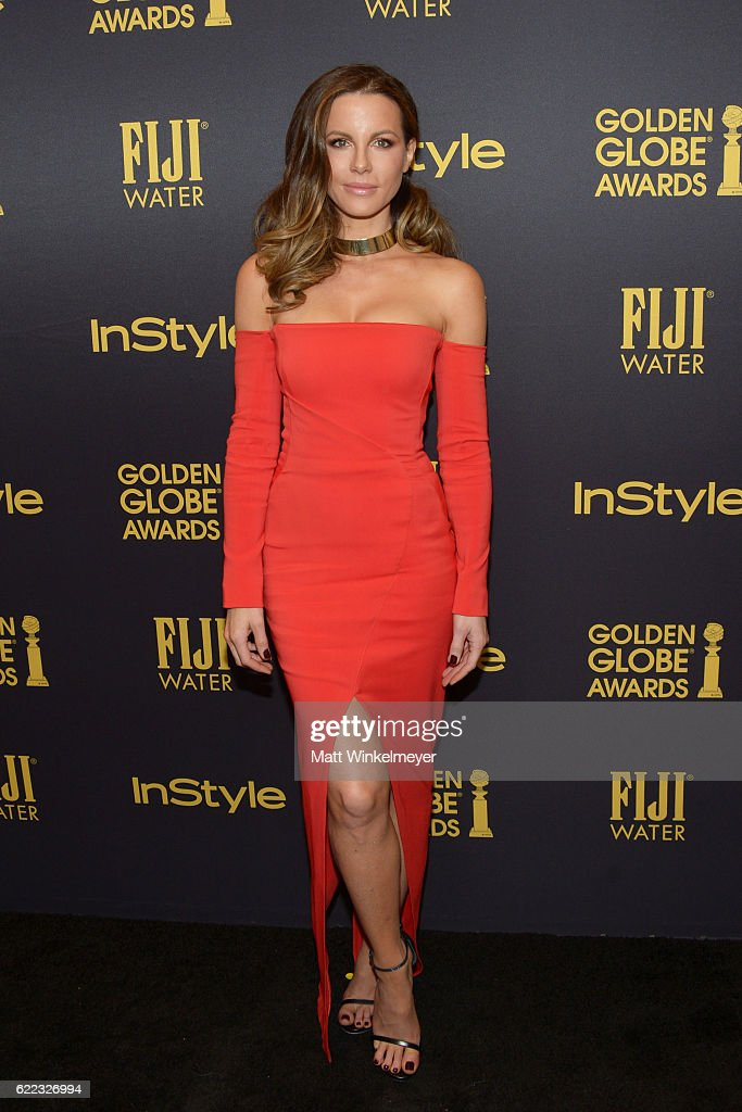 Hollywood Foreign Press Association And InStyle Celebrate The 2017 Golden Globe Award Season : News Photo
