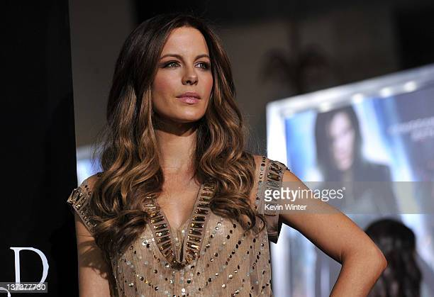 Actress Kate Beckinsale arrives at the premiere of Screen Gems' Underworld Awakening at Grauman's Chinese Theatre on January 19 2012 in Hollywood...