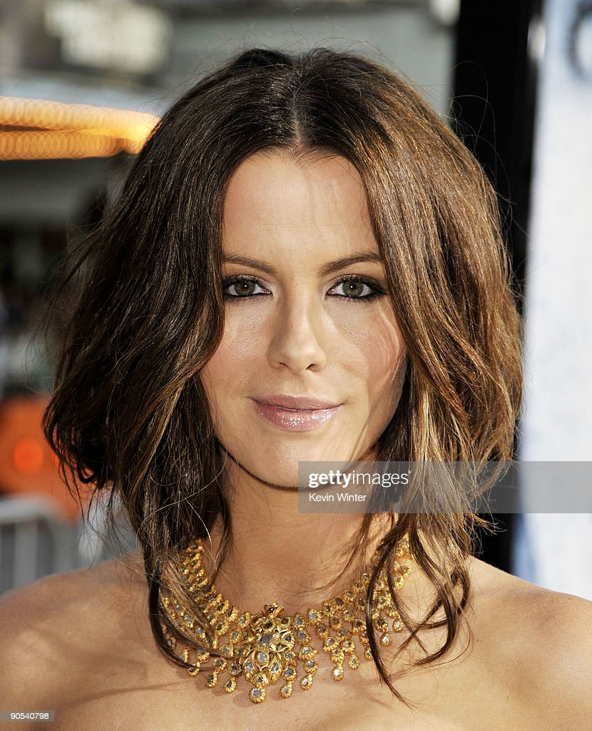 Actress Kate Beckinsale arrives at the premiere of Warner Bros. Pictures' 'Whiteout' at the Village Theater on September 9, 2009 in Los Angeles, California.