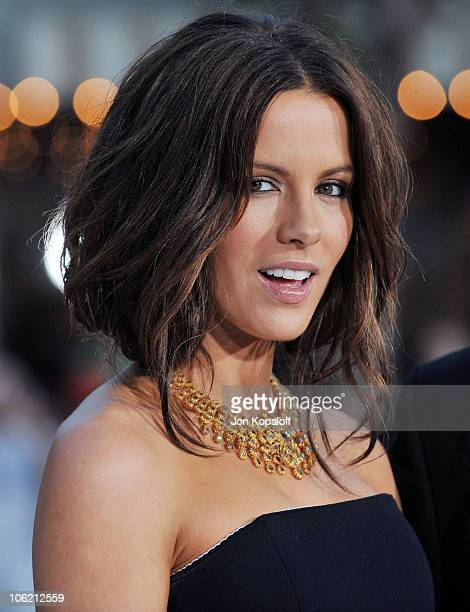 Actress Kate Beckinsale arrives the Los Angeles Premiere Whiteout at Mann Village Theatre on September 9 2009 in Westwood Los Angeles California