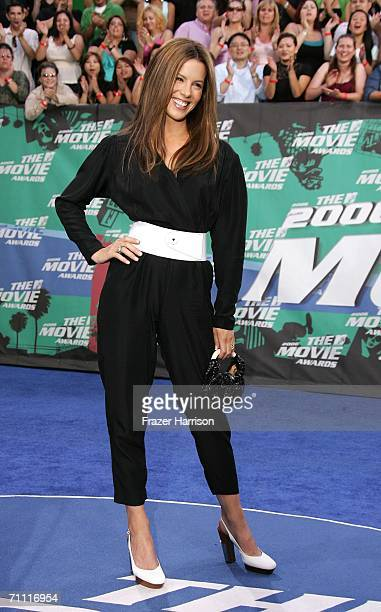 Actress kate Beckinsale arrives to the 2006 MTV Movie Awards at Sony Pictures Studio on June 32006 in Culver City California