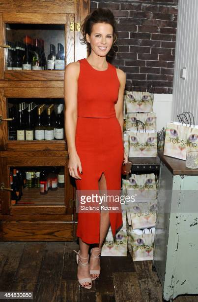 Actress Kate Beckinsale at 'The Face of an Angel' world premiere party hosted by GREY GOOSE vodka and Soho House Toronto during TIFF on September 6,...