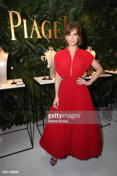 Actress Kate Beckinsale attends a cocktail party to kickoff Independent Spirit Awards and Oscar weekend hosted by Piaget and The Weinstein Company on...
