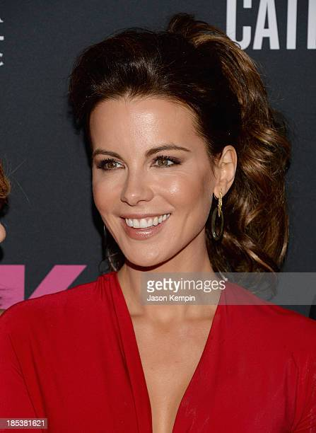 Actress Kate Beckinsale attends Elyse Walker Presents The Pink Party 2013 hosted by Anne Hathaway at Barker Hangar on October 19 2013 in Santa Monica...