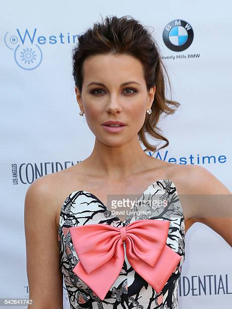 Actress Kate Beckinsale attends Los Angeles Confidential Magazine's Annual Women of Influence at The Peninsula Beverly Hills on June 23 2016 in...