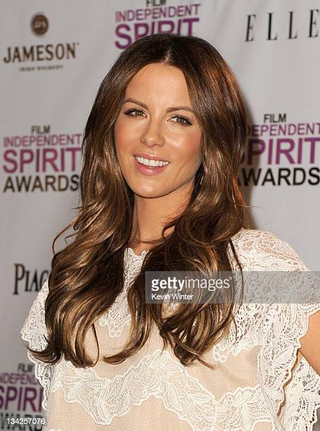Actress Kate Beckinsale attends the 2012 Film Independent Spirit Awards nominations press conference held at The London Hotel on November 29 2011 in...