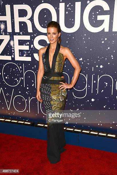 Actress Kate Beckinsale attends the 2014 Breakthrough Prize Awards at NASA AMES Research Center on November 9 2014 in Mountain View California