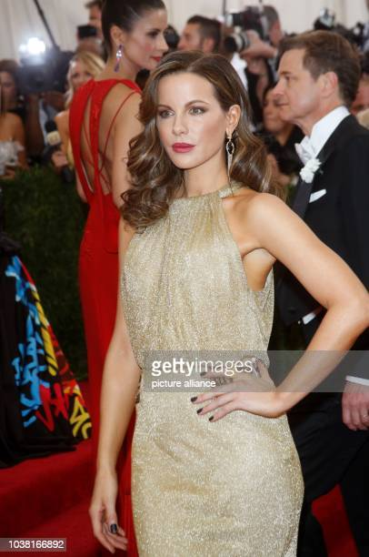 Actress Kate Beckinsale attends the 2015 Costume Institute Gala Benefit celebrating the exhibition 'China Through the Looking Glass' at The...
