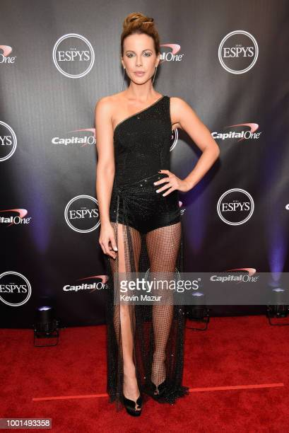 Actress Kate Beckinsale attends The 2018 ESPYS at Microsoft Theater on July 18 2018 in Los Angeles California