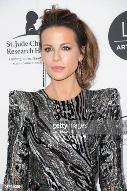 Actress Kate Beckinsale attends the LA Art Show 2019 at Los Angeles Convention Center on January 23 2019 in Los Angeles California