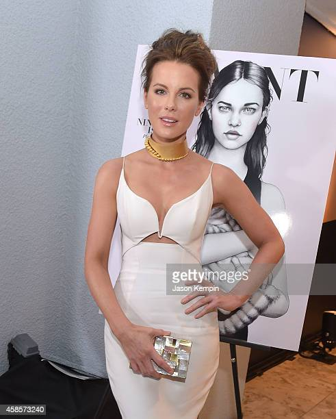 Actress Kate Beckinsale attends the Battersea Power Station launch party to celebrate the launch of its Global Tour at The London West Hollywood on...