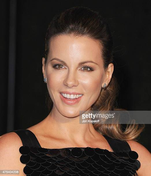 Actress Kate Beckinsale attends the Burberry 'London in Los Angeles' event at Griffith Observatory on April 16 2015 in Los Angeles California