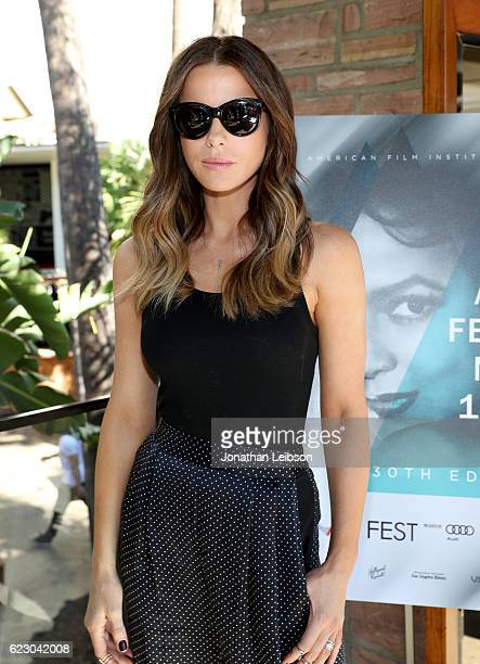 Actress Kate Beckinsale attends the Indie Contenders Reception hosted in the Audi Sky Lounge at AFI Fest 2016 presented by Audi at Hollywood...