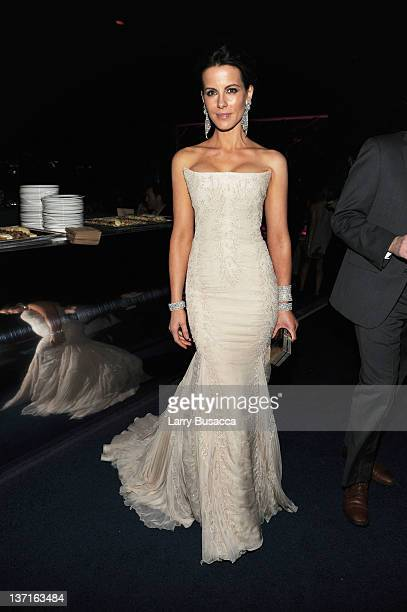 Actress Kate Beckinsale attends the InStyle and Warner Bros 69th Annual Golden Globe Awards PostParty at The Beverly Hilton hotel on January 15 2012...